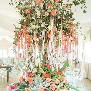 Coastal escort card tree