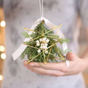 Mistletoe Holiday Wedding Decoration