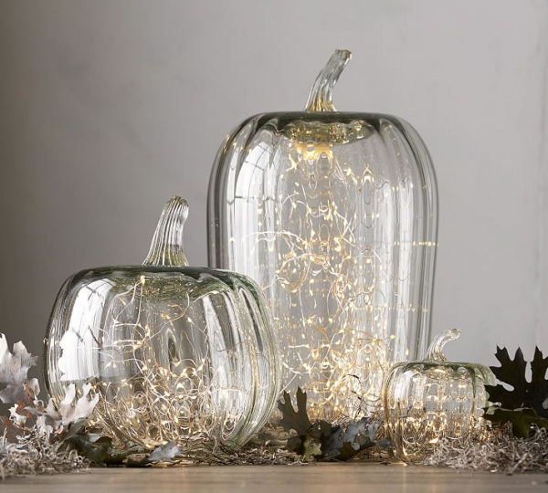 Glass Pumpkin Cloches