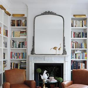 Gleaming Primrose Silver Mirror