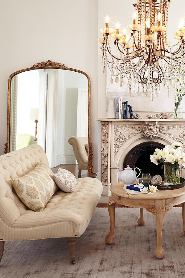 Gleaming Primrose Gold Mirror