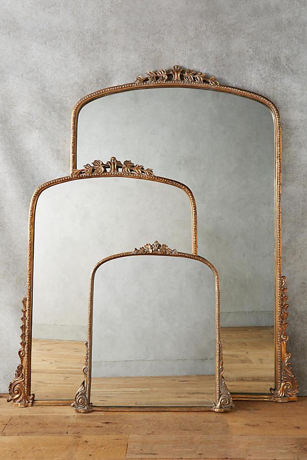 Gleaming Primrose Gold Mirrors