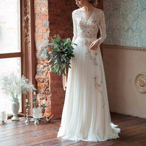 Gloria Long Sleeve Wedding Dress