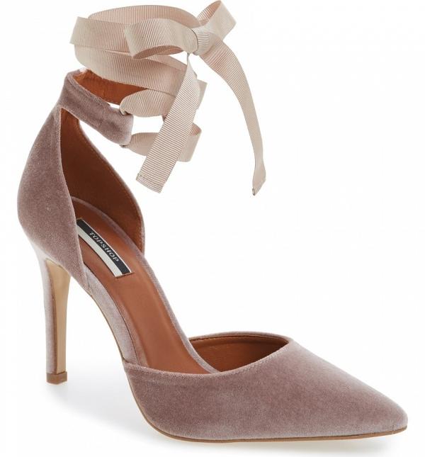 Velvet Bridal Shoes