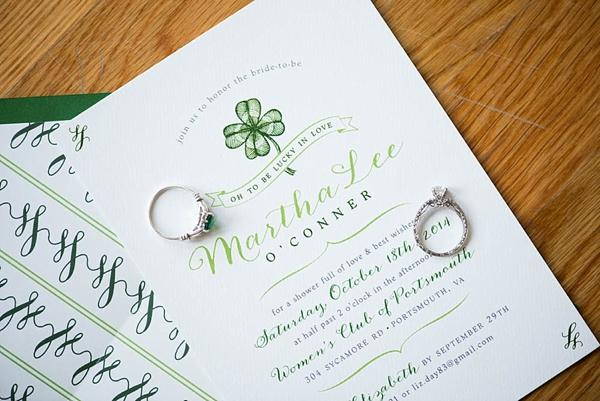 Irish Bridal Shower Invitation