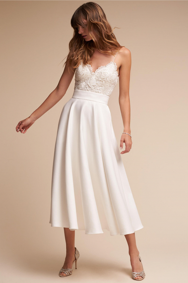 Lace Chic Bridal Skirt and Top