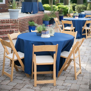 Hosting a backyard welcome dinner