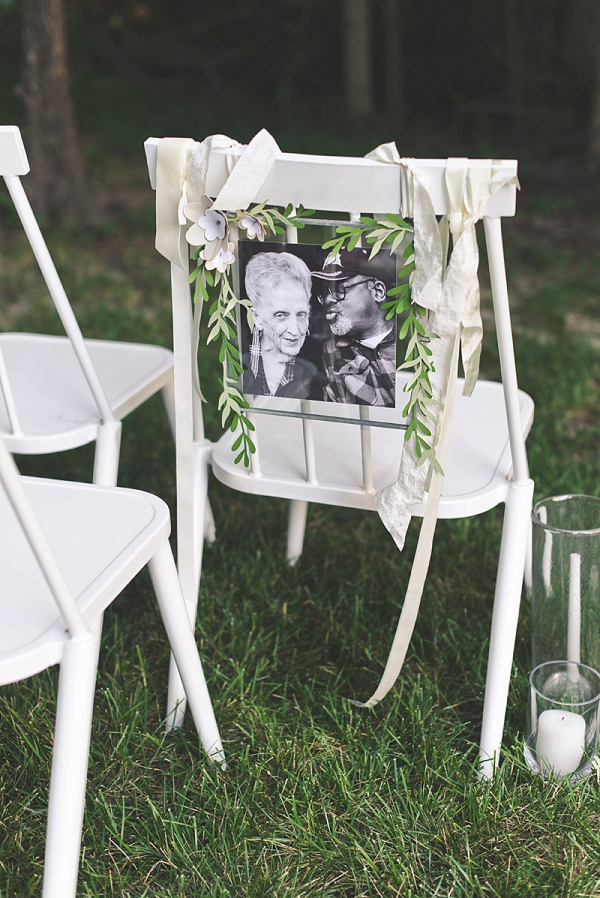 Wedding Memorial Chair for Ceremony
