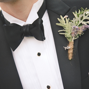 Cat charm boutonniere