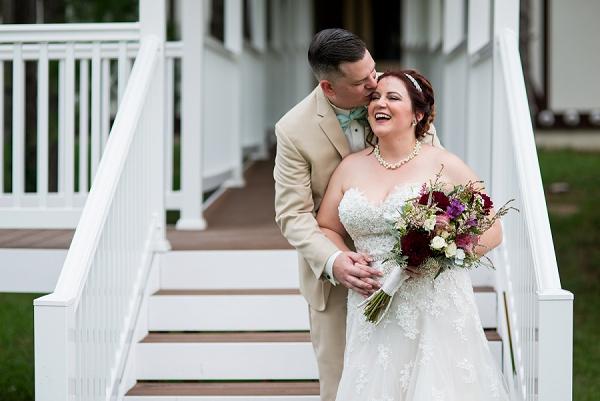 Intimate Wedding Williamsburg Winery