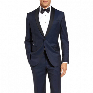 Black and Navy Blue Ted Baker Tuxedo
