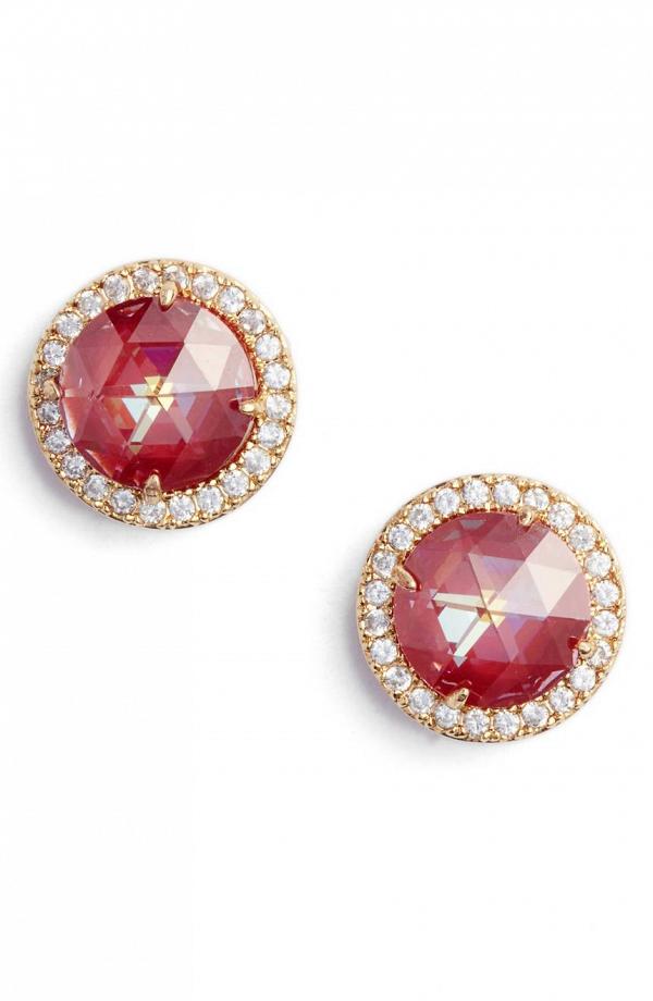 Kate Spade Red Stud Earrings
