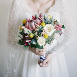 Australian Garden Bridal Bouquet