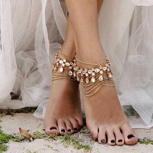 Boho Gold Anklets