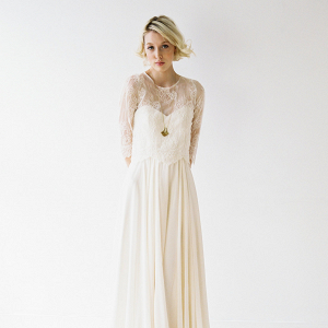Romantic Lace Bridal Separates