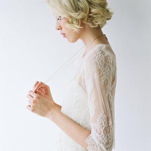 Lace Bridal Shirt