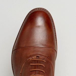 Tan Leather Groom's Shoes