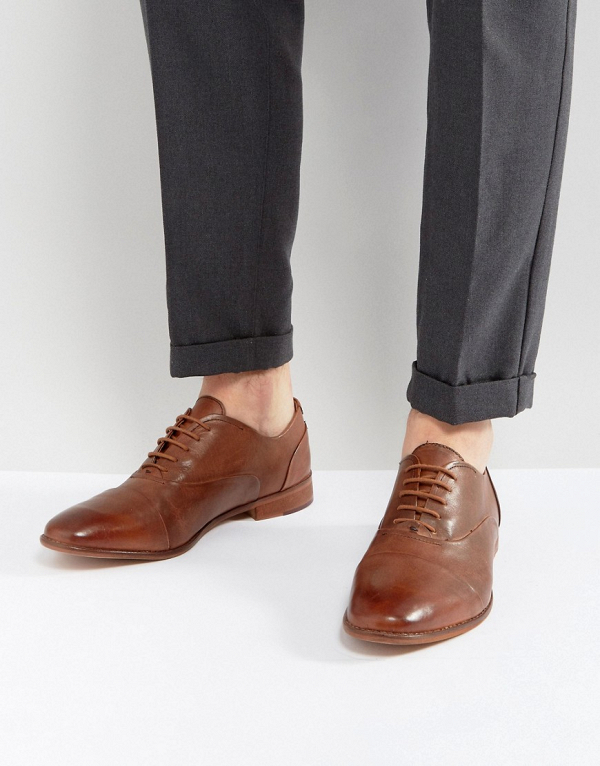 Men's Smart Tan Leather Shoes