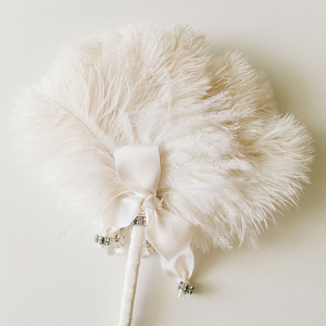 Feather Fan Back