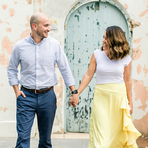 Libby Hill Park Engagement Photos in Richmond Virginia