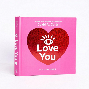 I Love You Pop Up Book