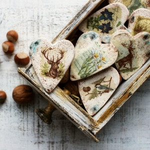 Woodland Wedding Favours Magnets