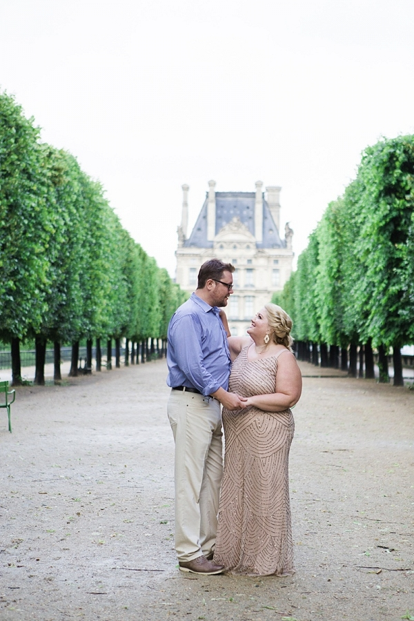 Married Couple in Paris France