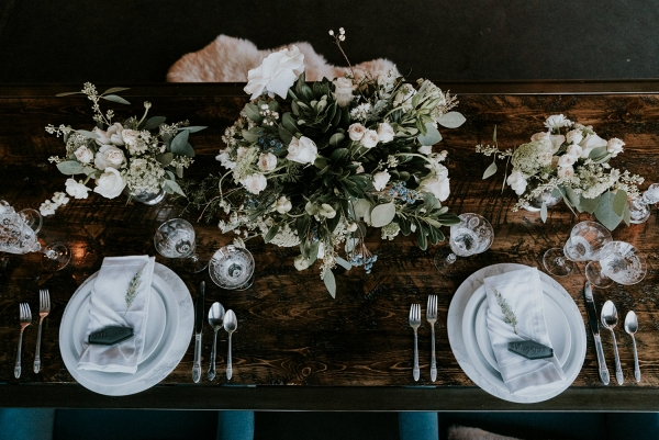 Modern Wedding Marble Charger Plates