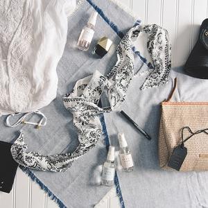 Chic Mediterranean honeymoon beauty and fashion