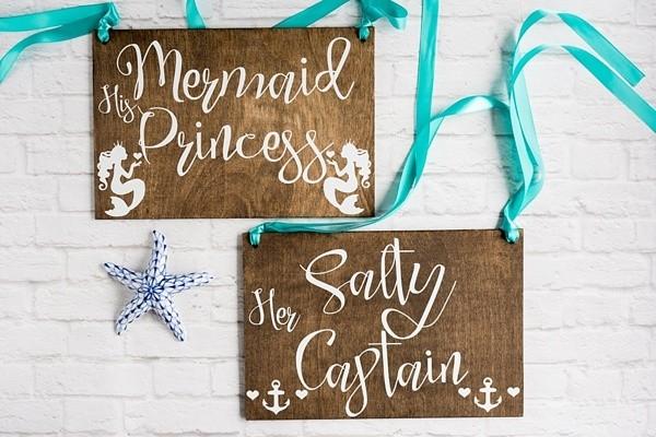 Mermaid chair signs