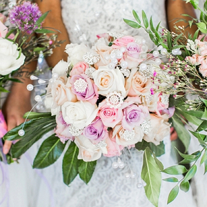 Garden Glam Wedding Bouquets