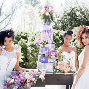 Garden Glam Wedding Inspiration