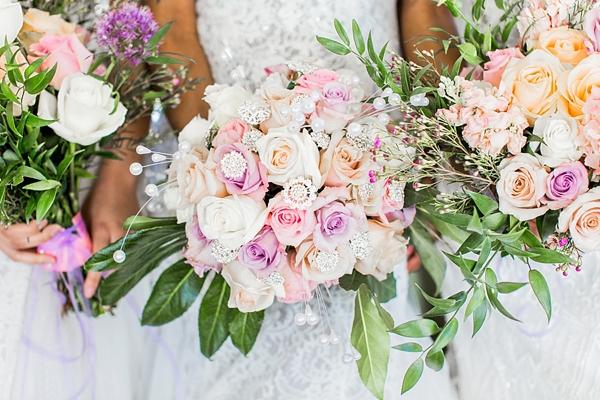 Garden Glam Wedding Bouquets