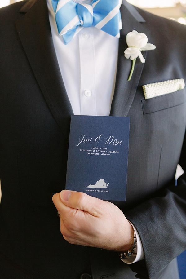 LGBT Wedding Program booklet