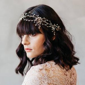Morisette Crystal & Imitation Pearl Headband