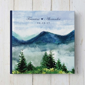 Mountain Wedding Guestbook