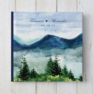 Mountain Wedding Guestbook
