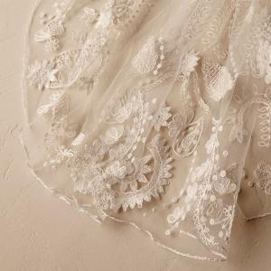 BHLDN Ninette Veil Detail