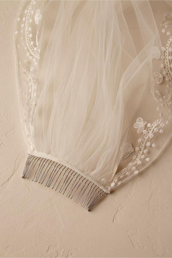 BHLDN Ninette Veil Comb