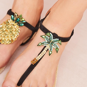 Pineapple Honeymoon Sandals