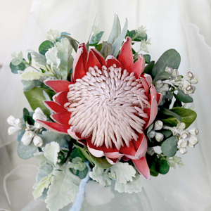 Protea with Foliage Bouquet