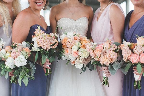 Lavender bridesmaid dresses