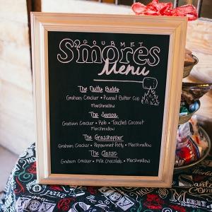Smores menu