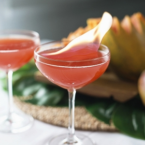 Olympic Torch Signature Cocktail
