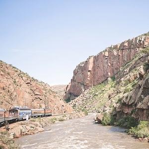 Train ride in Colorado