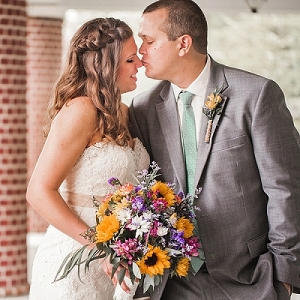 Rustic wedding in Virginia