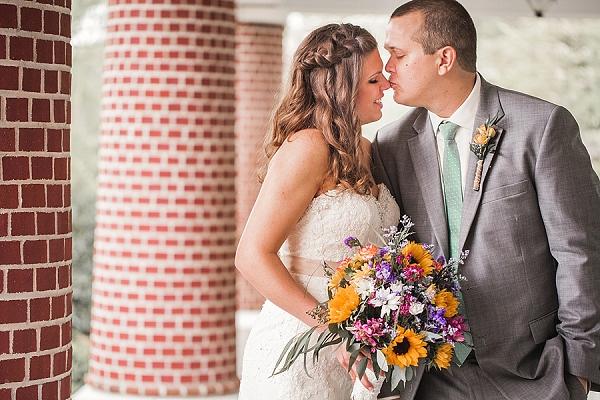 Rustic wedding in Virginia