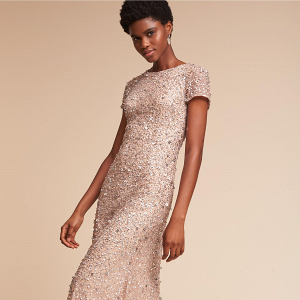 Lucent Sparkly Bridesmaid Dress