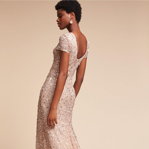 Sequin Lucent Dress