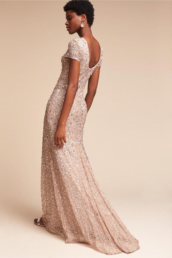 Sequin Lucent Dress